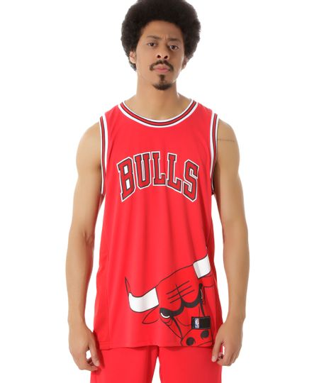 Regata NBA Chicago Bulls Vermelha