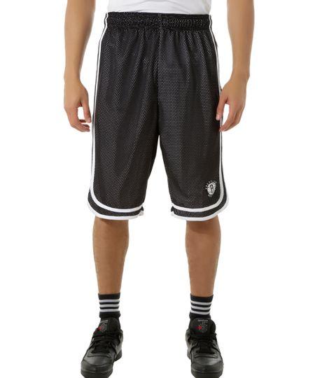 Bermuda Brooklyn Nets NBA  Preta
