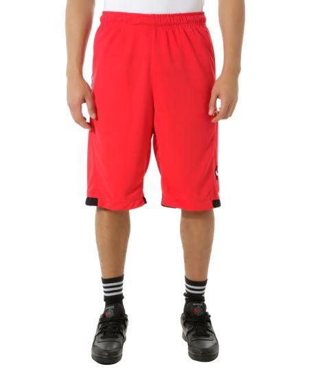 Bermuda Chicago Bulls NBA Vermelha