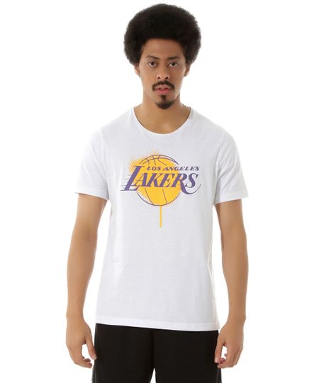 Camiseta NBA Los Angeles Lakers Branca