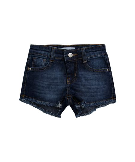 Short Jeans Azul Escuro