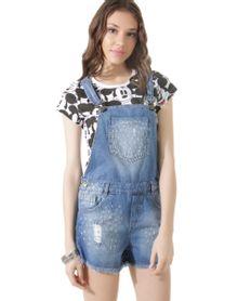 Jardineiras e salopetes for Jardineira jeans infantil c a