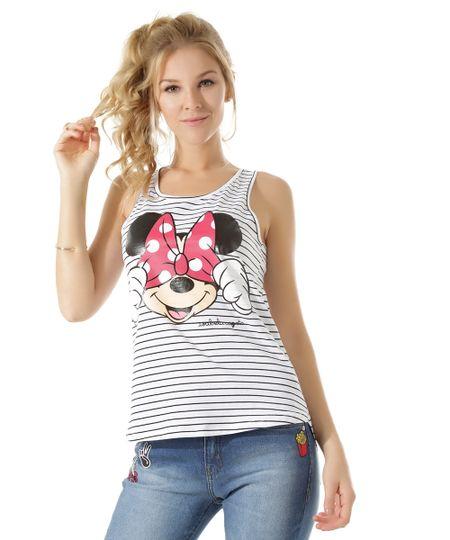 Regata Listrada Isabela Capeto & Disney Branca