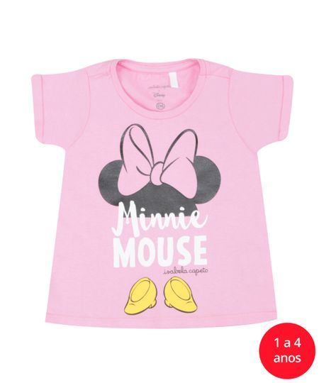 Blusa Isabela Capeto & Disney Rosa