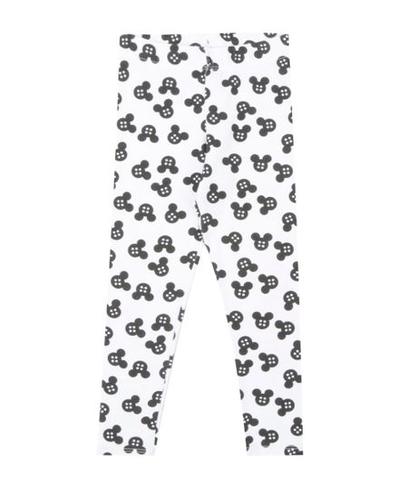 Calça Legging Estampada Isabela Capeto & Disney Branca