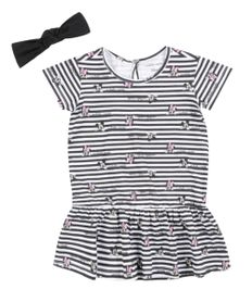 Vestido-Listrado---Faixa-de-Cabelo-Isabela-Capeto---Disney-Branco-8401326-Branco_1