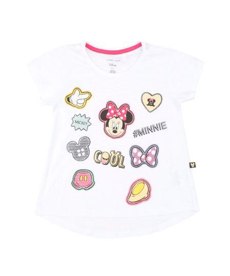 Blusa Isabela Capeto & Disney Branca
