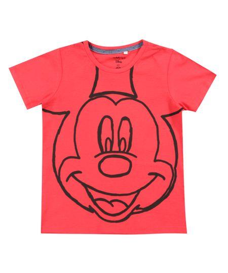 Camiseta Flamê Isabela Capeto & Disney Vermelha