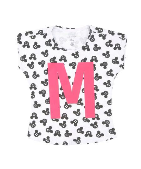 Blusa Estampada Isabela Capeto & Disney Branca