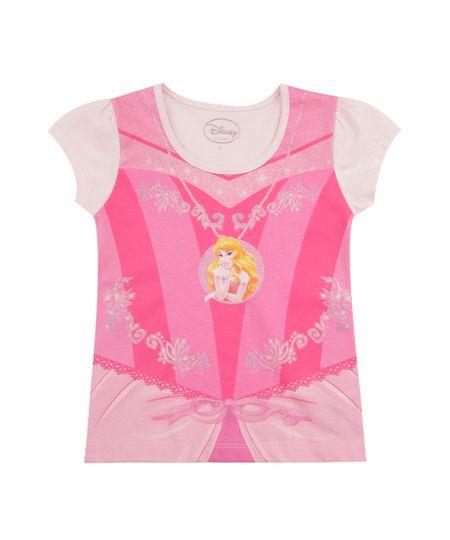 Blusa Bela Adormecida Rosa