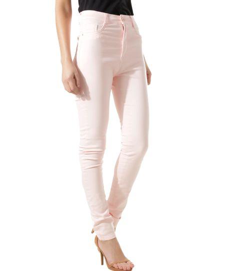Calça Super Skinny Sawary Rosa