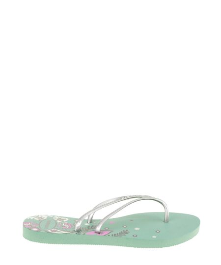 Chinelo Havaianas Floral Verde
