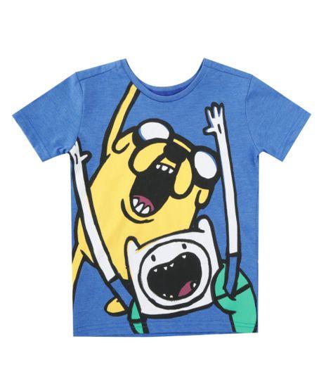 Camiseta-Hora-de-Aventura-Azul-8397646-Azul_1