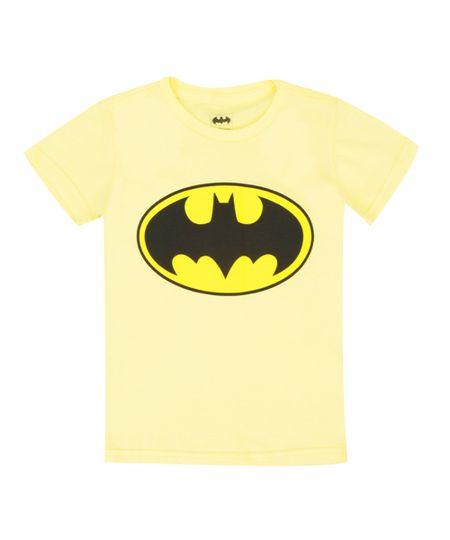 Camiseta Batman Amarela
