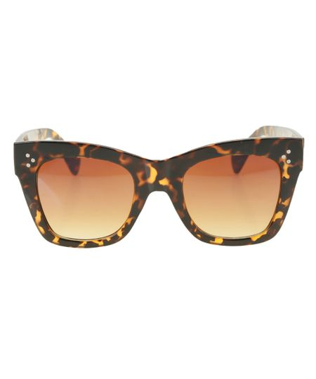 Óculos Gatinho Feminino Oneself Tartaruga