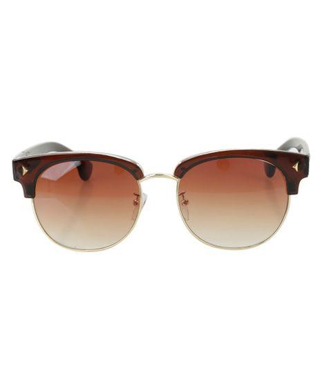 Oculos-Redondo-Feminino-Oneself-Marrom-8483492-Marrom_1