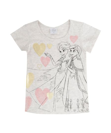 Blusa Frozen Rosa Claro
