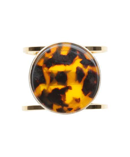 Bracelete Animal Print Dourado