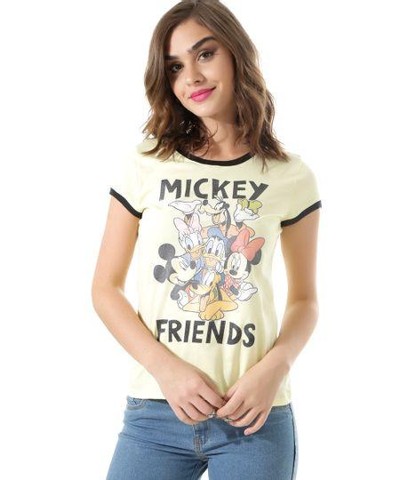Blusa Turma do Mickey Amarela