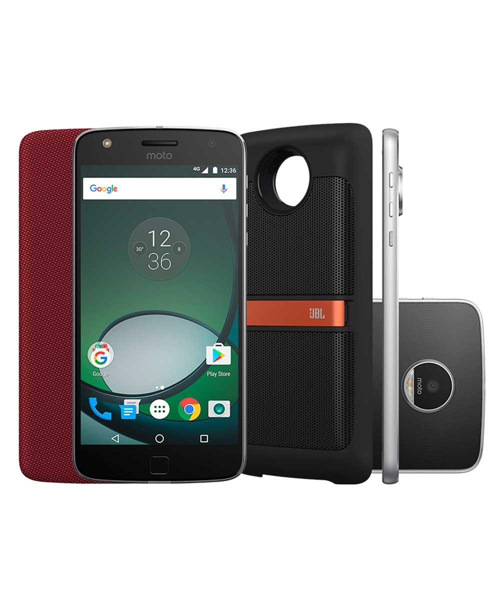 Smartphone Motorola Moto Z Play Sound Edition XT1635 - 02 - Unico Preto