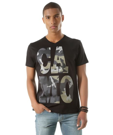 Camiseta--Camo--Preta-8424123-Preto_1