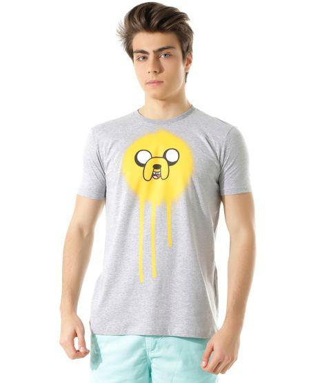 Camiseta-Hora-de-Aventura-Cinza-Mescla-8392881-Cinza_Mescla_1