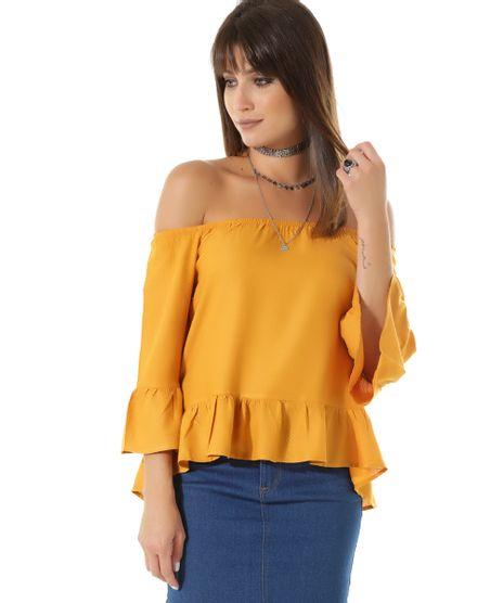 Blusa-Ombro-a-Ombro--Amarelo-Escuro-8429977-Amarelo_Escuro_1