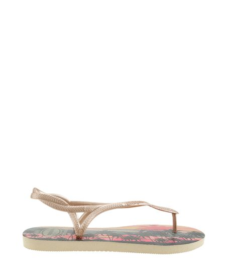 Chinelo Havaianas Tropical Bege