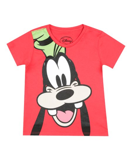 Camiseta Pateta Vermelha