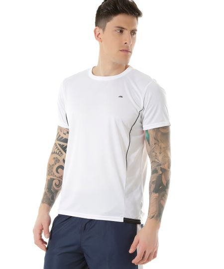 Camiseta Ace Basic Dry Branca