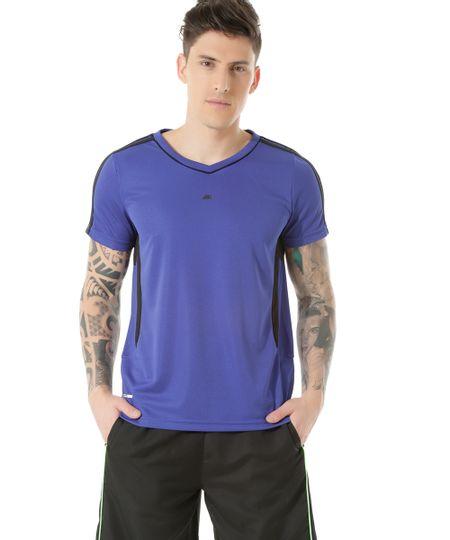 Camiseta de Corrida Ace Azul