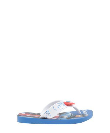 Chinelo Ipanema Capitão América Azul