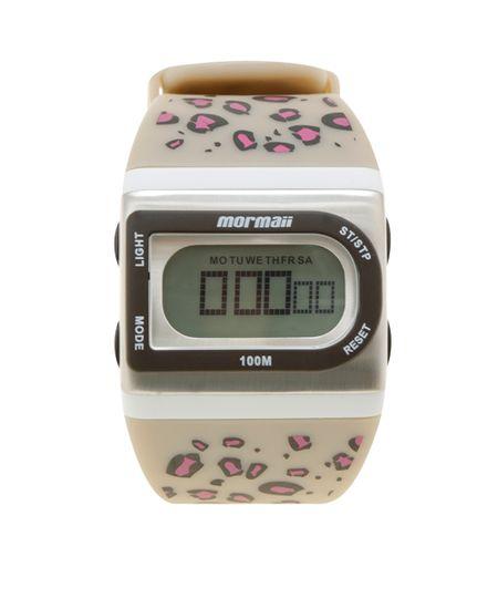 Relógio Digitai Mormaii Troca Pulseiras Feminino - FZL/8P Multicor