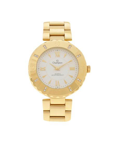 Relógio Analógico Champion Feminino - CCN29534H Dourado