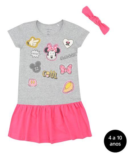 Vestido + Faixa de Cabelo Isabela Capeto & Disney Pink