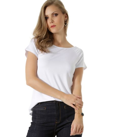 Blusa Básica Branca