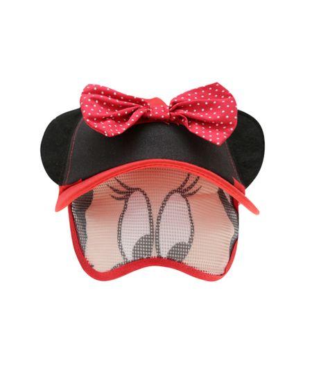 Boné Minnie Vermelho