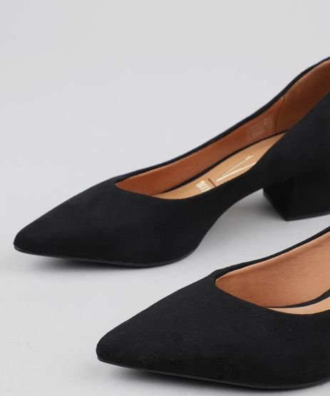 411d1f3ec1 Sapato Scarpin Preto em promoção - Compre Online - Melhores Preços