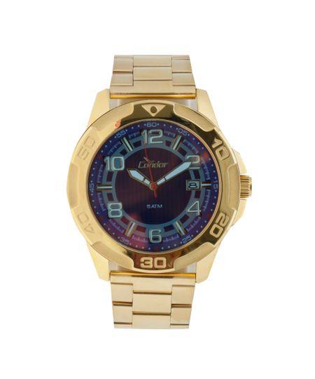 Relógio Condor Analógico Troca Pulseiras Masculino - CO2415AJ4A -  Dourado