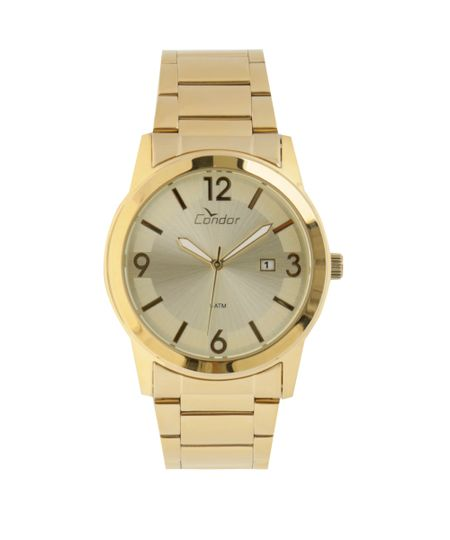 Relógio Condor Analógico Masculino - COPC32AE/4X Dourado