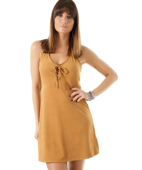 Vestido-em-Suede-Caramelo-8419236-Caramelo_1