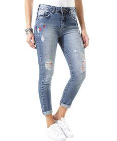 Calca-Jeans-Cigarrete-com-Bordado-Azul-Medio-8456250-Azul_Medio_1
