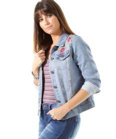 Jaqueta-Jeans-com-Bordado-Floral-Azul-Medio-8478427-Azul_Medio_1