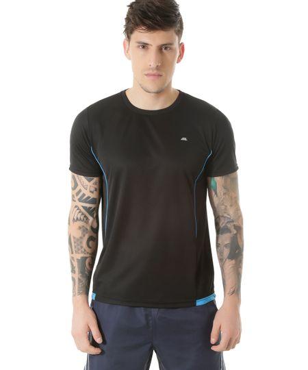 Camiseta Ace Basic Dry Preta