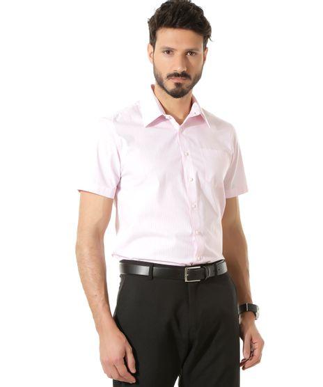 Camisa-Social-Comfort-Listrada-Rosa-8303837-Rosa_1