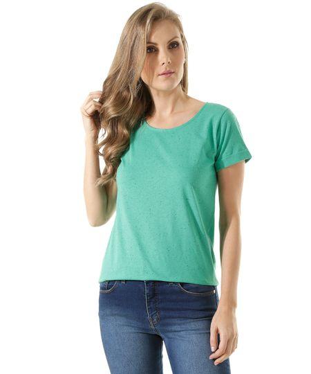 Blusa Básica Botonê Verde
