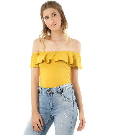 Blusa-Ombro-a-Ombro-Cropped-Amarela-8432724-Amarelo_1