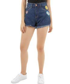 Short-Hot-Pant-Jeans-com-Patch-Azul-Medio-8375436-Azul_Medio_1