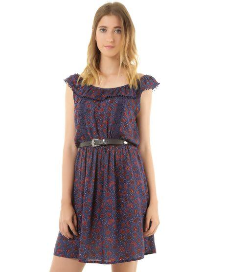 Vestido-Estampado-de-Ombro-a-Ombro-Azul-Marinho-8351941-Azul_Marinho_1