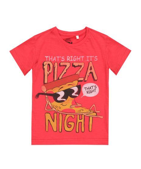 Camiseta-Steve-Pizza-Vermelha-8465537-Vermelho_1